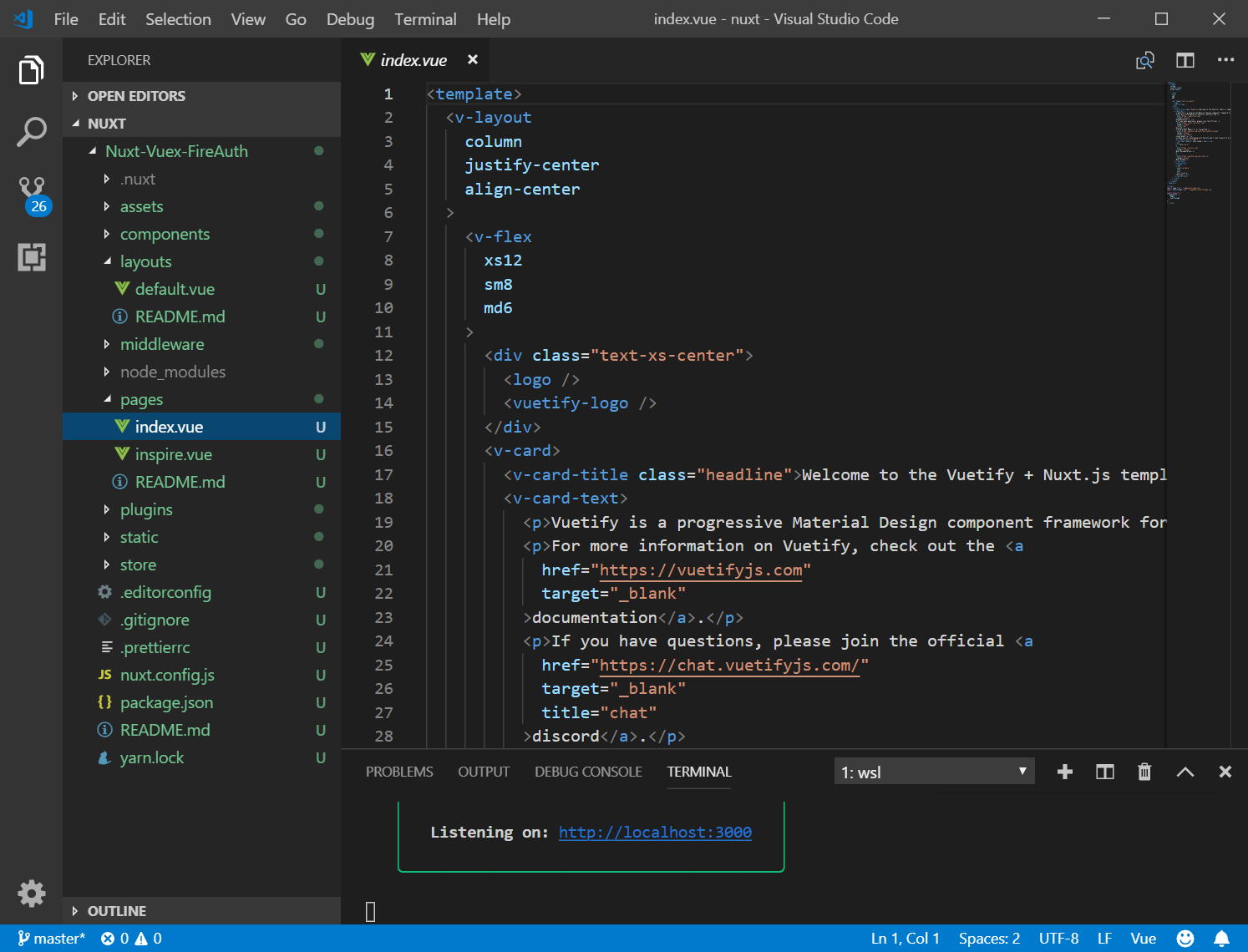 17 nuxt jsのvuexでパスワード制限:index html [サルでもわかるWEB